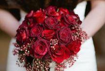 Red Wedding Flowers / by Flower Stand Laguna