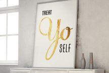 treat yo self.  / wish list / by Anna Holt