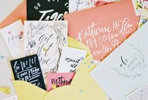 paperlust. / paper + hand-lettering / by Anna Holt