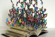 Altered Books / Journals, altered books, mini albums all fabulous! / by Becky Loyall