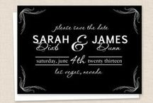 Engagement: Save the Date / by Heather Hippler