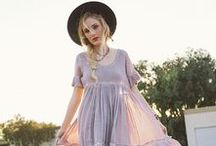 ROMANTIC GRUNGE / Fall in love with florals, skirts and dresses with a sweet but bold edge.