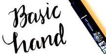 Hand lettering / Hand lettering tips, handlettering DIY, handlettering tutorials, hand lettering inspiration , graphic design