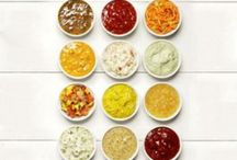 Condiments Please / All kinds of dressings and condiments. / by Becky Loyall