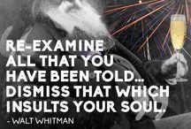 Walt Whitman Words of Wonder / by Aara
