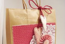 Bag and wrap it! / Homemade  gift bags / by Becky Loyall