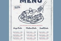 Design - Menus / Menu design inspiration