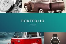 UX/ UI - Portfolio Layout Design / UX/ UI inspiration for portfolio related layouts for web design.
