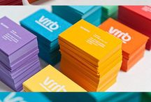 Brand Identity - Business Cards / Inspiration of how designers go about designing the perfect business cards that go hand in hand with their identity.