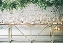 Rustic/green Wedding / A rustic wedding design board.  Natural elements, industrial accents and bringing the outdoors in. / by Occasionally Perfect