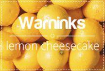 Warninks Lemon Cheesecake / Heerlijke creamdrank met de smaak van Lemon Cheesecake. Om van te genieten na de maaltijd of om over ijs- of vruchtendessert te gieten.