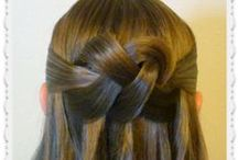 Half Up Hairstyles / The best half up hairstyles.  Braids, twists, knots, half up half down hair styles. / by Princess Hairstyles