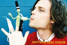 Awesomeness Personified / Matthew Gray Gubler / by Tayler K