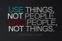Quotes, Sayings, etc.