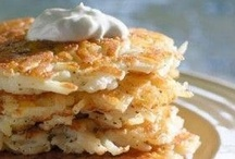 Food: Hashes and Potato Fritters (Vegetarian or Vegan) / by Kelly N Z Rickard