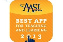 2013 Best Apps for Teaching and Learning / Best Apps for Teaching and Learning is a new recognition honoring apps of exceptional value to inquiry-based teaching and learning as embodied in the American Association of School Librarians' Standards for the 21st-Century Learner.