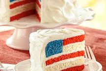 American Flag Desserts for 4th of July