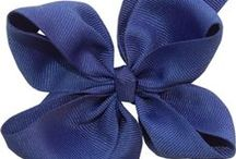 Solid Grosgrain Hairbows / Solid Grosgrain Hair bows from Hairbows.com / by Hairbows.com