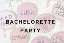 1+ MONTHS: Bachelorette Party / by Weddington Way