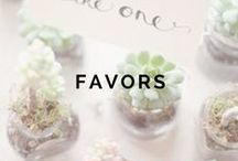1+ MONTHS: Favors / by Weddington Way