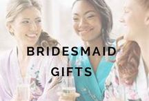 1+ MONTHS: Bridesmaid Gifts / by Weddington Way