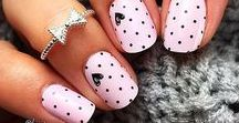 Nails / Preety nails with patterns