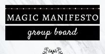 Magic Manifesto - Self-development, Spirituality, Law Of Attraction, Empowerment / A group board for anything related to self-development, spirituality, law of attraction, empowerment. PLEASE DO NOT: pin anything with different topics and spam. To apply to contribute: 1) Follow my Pinterest profile (@ester_lindsey) 2) Message me here, that includes your Pinterest link and email address. Thank you :)
