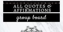 All Quotes & Affirmations - Group Board / A group board all about quotes and affirmations. - Inspirational Quotes, Motivational Quotes, Wise Quotes, Life Quotes, Happiness Quotes, Hope Quotes, Deep, Spiritual Quotes. Share all that you have. To join: 1) Follow my Pinterest profile (@ester_lindsey) 2) Message me here. See you there :) #quote #quoteoftheday #quotestoliveby #positivethinking #positive #positivevibes #inspiringquotes #greatquotes #wisewords #wisdom #affirmation #morninginspiration #morningmotivation #successquote #success