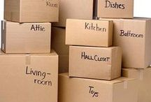 Moving Tips / Moving tips and tricks. How to make moving day less stressful. How to pack items for moving