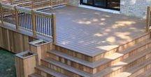 Porch & Deck Ideas / Porch ideas. Deck ideas. Patio ideas. Porch decor. Deck plans. Patio furniture.