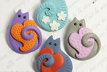 Simpatici gattini / Gattini in ceramica