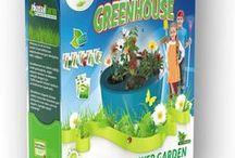 EkosolKids Mini Sera / Yarının Organikçilerine Solucan Gübresi ile bitki üretim seti. Ekosolkids Mini Sera içerisinde, meyve,sebze üretmek için tohum, gübre ve tüm bilgiler.