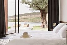 bedrooms / by Sarah di Grazia