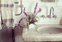 bathrooms / by Sarah di Grazia