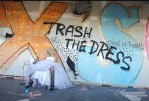 "Wedding Fashion/Trash the Dress / Post Wedding fun! Some shots from ""Trash the Dress"" photo shoots."