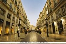 City Street Locations in Malaga
