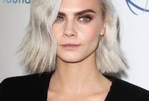 Grey & Silver Hair / silver hair ✦ salt and pepper ✦ going grey ✦ silver foxes ✦ hairstyles ✦ white hair ✦ grey hair colours ✦ gray hair ✦ grey hair