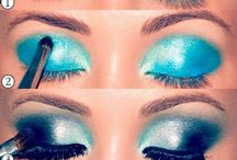 Eye makeup / by Chanelle Cutler
