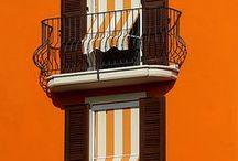 Doors and windows and balconies