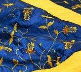 Fabrics, Quilts, Piqués Provençaux, Wallpapers.