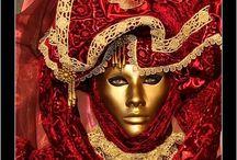Carnivals - Masquerades - Masques et Bergamasques...