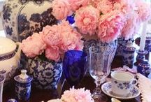 Tableware, tablescapes, table settings...