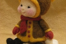 Teddy bears, dolls and other cuddly toys