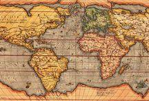 Planispheres, Maps, Globes...