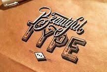 * Typografie