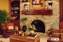 Built in Bookcases beside fireplace / by Cindy Connors (Nixon)