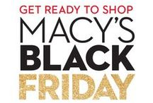 Black Friday 2015 / Black Friday kicks off online and in-store on Wednesday, November 25th, and with over 700 Web Busters coming your way, you might want to get those wish lists ready! Even better: You can enjoy FREE shipping at $50! / by Macy's