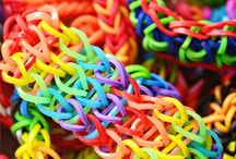 Rainbow Loom / Let's band together and be friends / by Lisa Popish