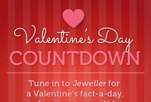 Valentine's Day Facts / Countdown to Valentine's Day with Jeweller. Impress your loved ones this 14 February with Jeweller's countdown of top 10 Valentine's Day facts as well as a selection of love-inspired jewellery items.