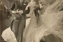 Nuptials of yesteryear ...